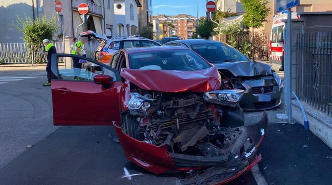 L'incidente in via Uttini