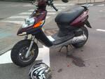 Lo scooter coinvolto nell'incidente