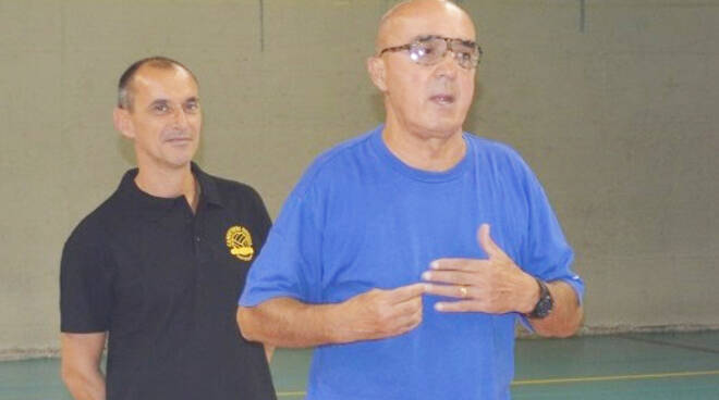 Nella foto di Andrea Scrollavezza, il presidente Fausto Colombi (Canottieri Ongina)