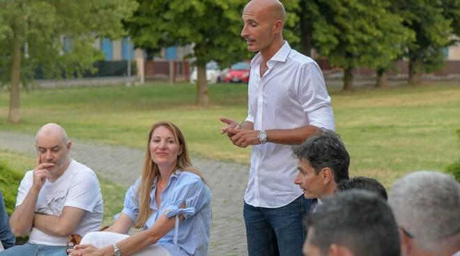 Nella foto di Massimo Dioni, il direttore sportivo della Conad Alsenese Luca Baldrighi