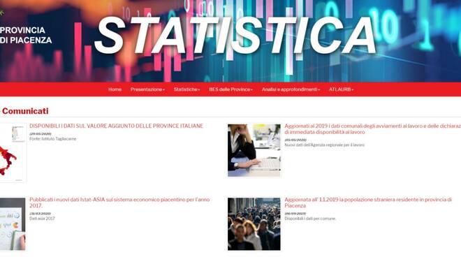 portale web statistica