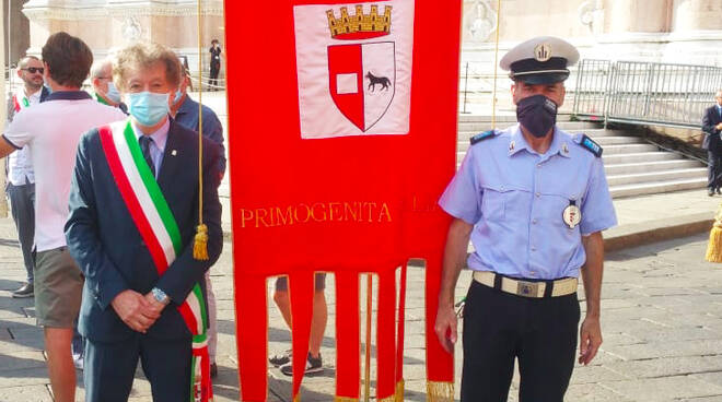 Sergio Pecorara alla commemorazione della stage di Bologna