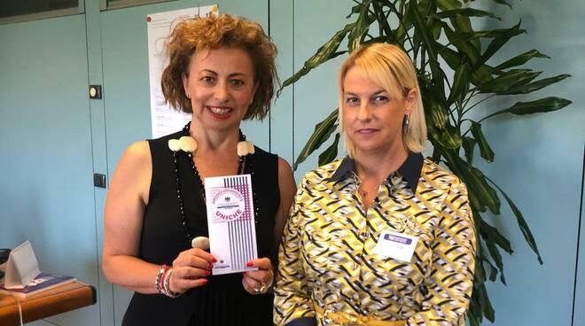 Sonia Alvisi e Nadia Bragalini