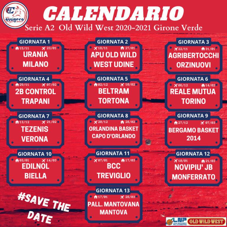 calendario basket