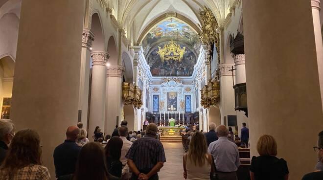 celebrazione rosario in Sant'Antonino