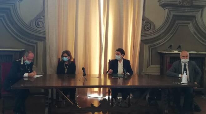 Conferenza stampa in Prefettura