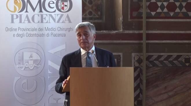 Il presidente uscente Augusto Pagani