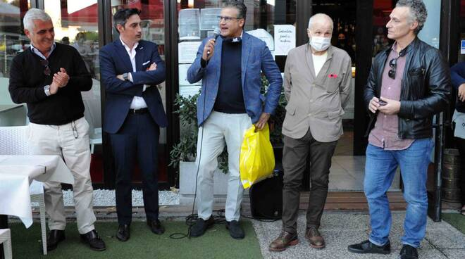 """Inaugurazione club tifosi """"Forza vecchio cuore biancorosso"""""""