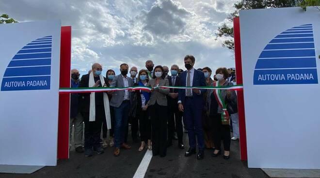 Inaugurazione tangenziale di San Giorgio