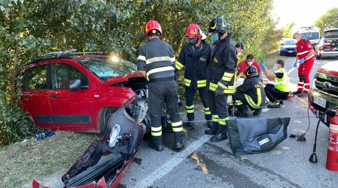 incidente a Pontenure
