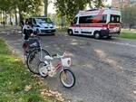 incidente bici sul Facsal