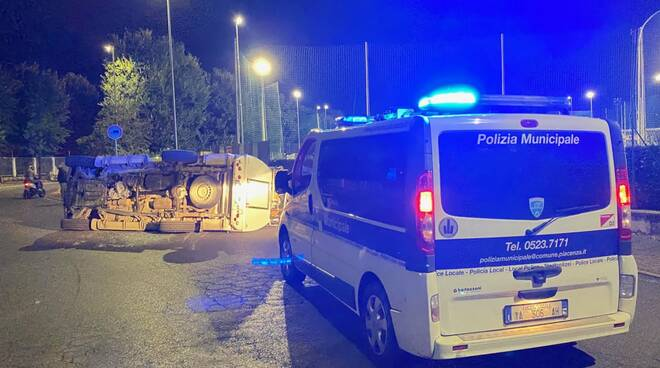 Incidente rotatoria di Borgotrebbia