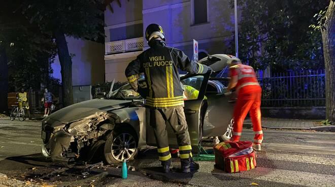 incidente via Da Saliceto