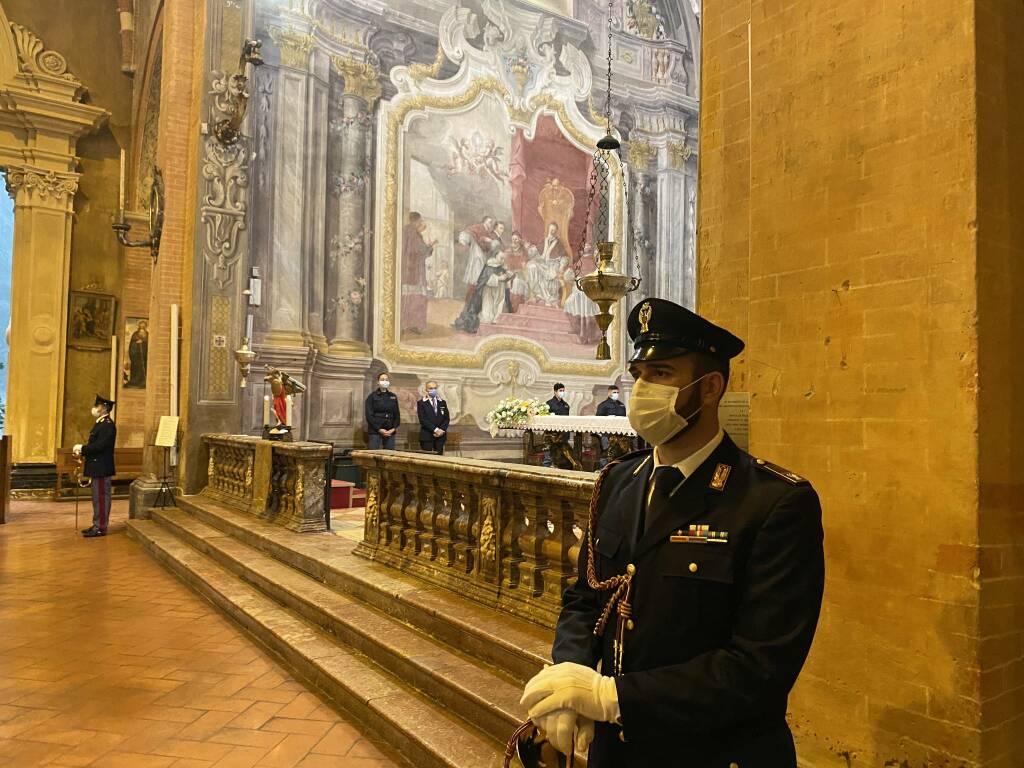 La messa per il patrono della polizia San Michele Arcangelo