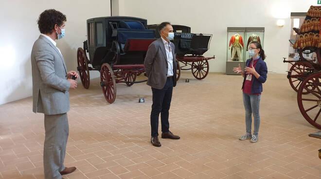 La visita nel piacentino dell'assessore Corsini