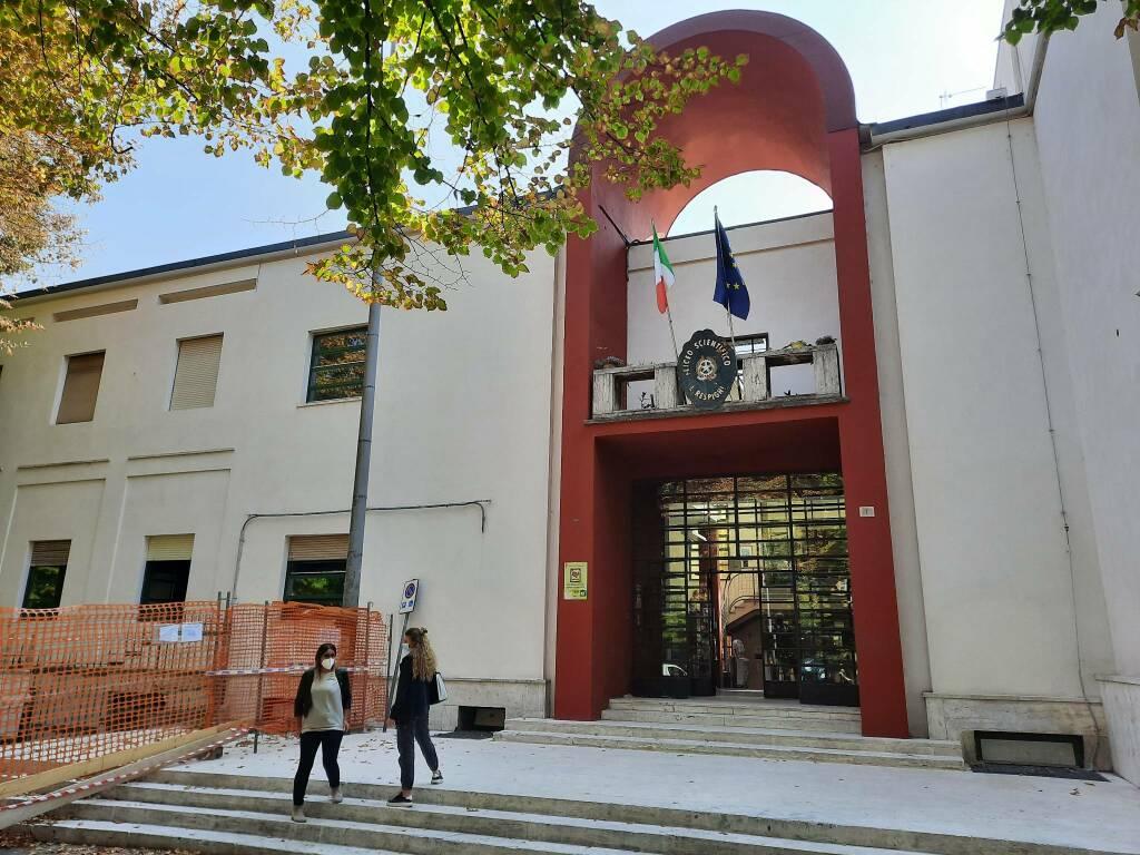 Primo giorno di scuola a Piacenza