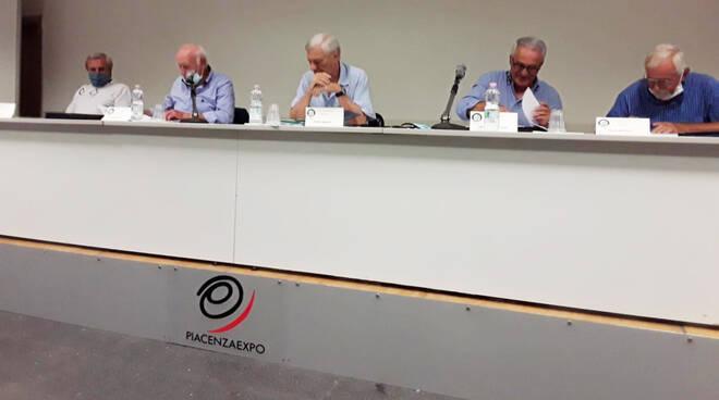Riunione calcio dilettanti a Piacenza Expo