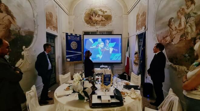 Rotary Piacenza passaggio di consegne
