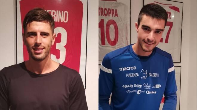 Simone Stucchi e Matteo Battistini (Piacenza Calcio)