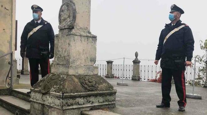 carabinieri Pigazzano vandali