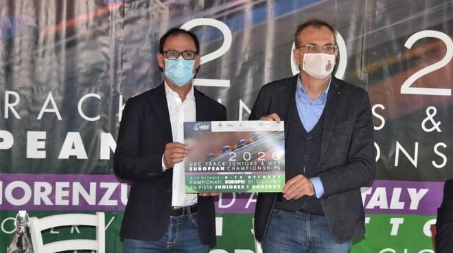 Davide Cassani e Romeo Gandolfi