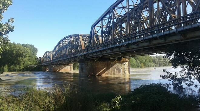 fiume Po ottobre 2020