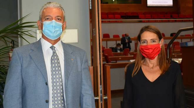 Giancarlo Tagliaferri e Katia Tarasconi