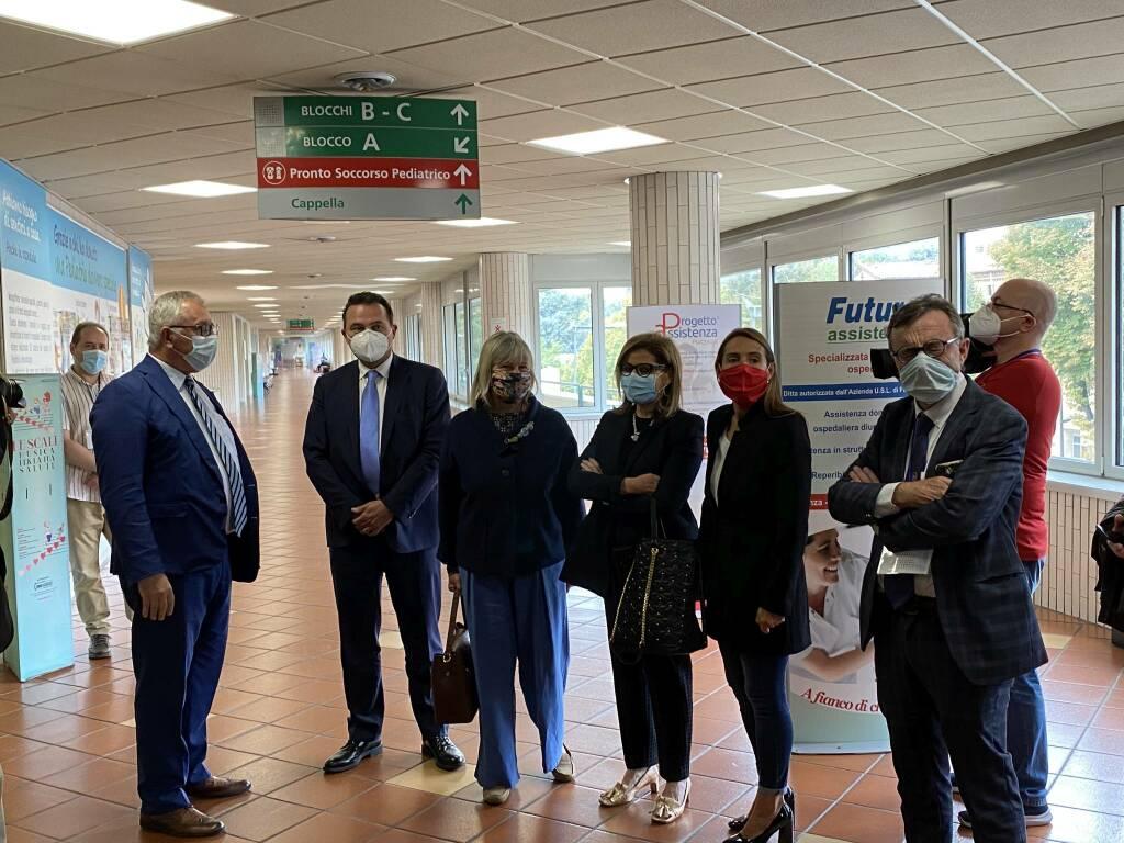 Inaugurazione nuovo reparto Pneumologia e unità terapia intensiva
