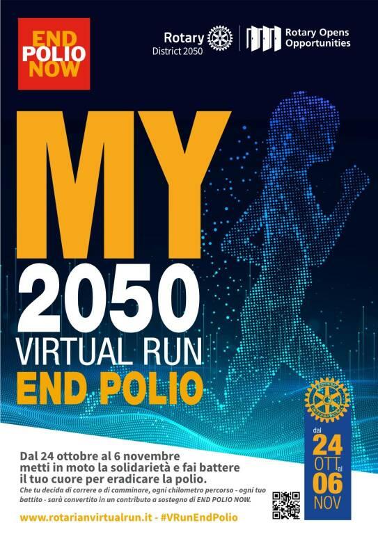 My virtual run