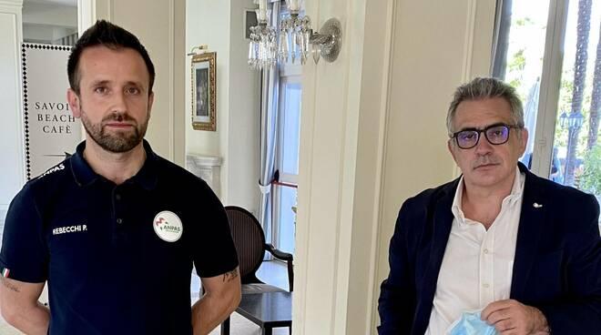 Paolo Rebecchi e Fabrizio Pregliasco