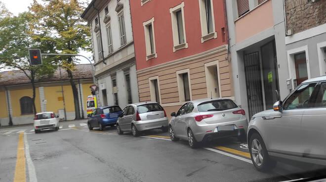 parcheggio selvaggio a Piacenza
