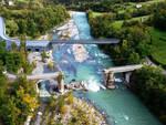 Progetto Ponte Provvisorio sul Trebbia