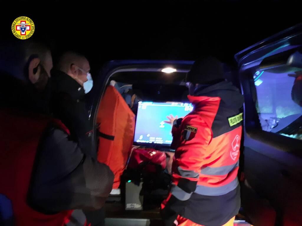 soccorso alpino a Leggio