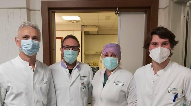 Equipe radiologia ospedale di Piacenza