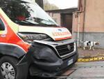 incidente ambulanza via Farnesiana