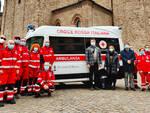 La nuova ambulanza della Croce Rossa