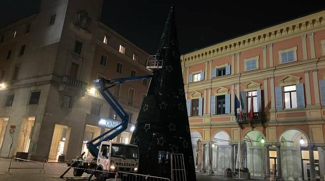 Le luminarie del Natale