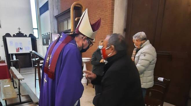 Monsignor Cevolotto a Sarmato