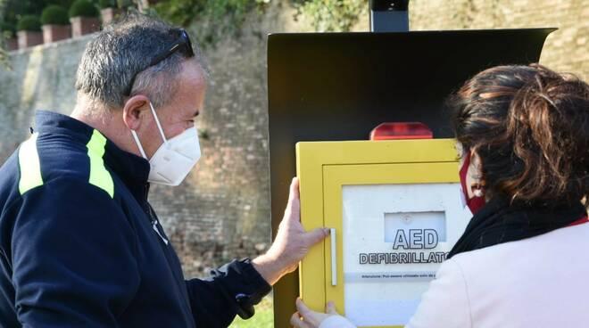 Nuovo defibrillatore Sarmato