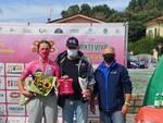 Vincenzo Alongi con l'Allieva Sara Berti (VO2 Team Pink)