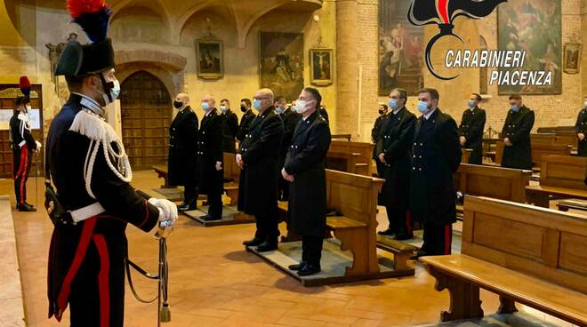 Virgo Fidelis carabinieri 2020