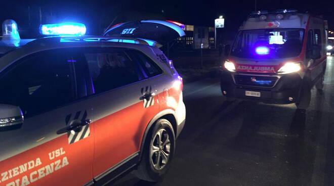 Ambulanza soccorsi Croce Rossa 118