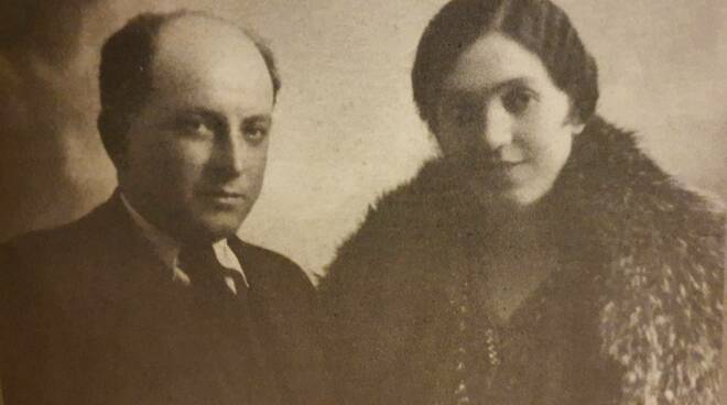 Clelia Terzaghi assieme al marito Federico Marenghi