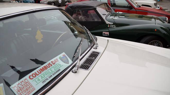 Columbus Day auto d'epoca