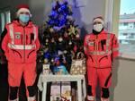 Glie equipaggi Anpas nel giorno di Natale