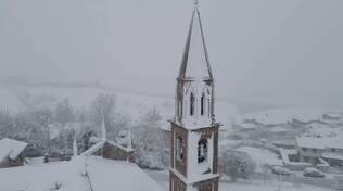 Il campanile visto dall'alto