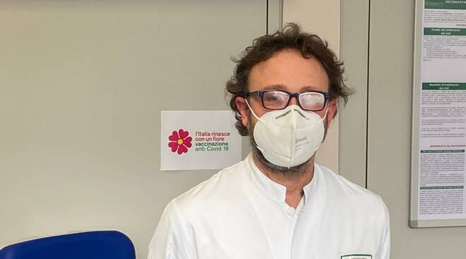 Il primo vaccino a Piacenza