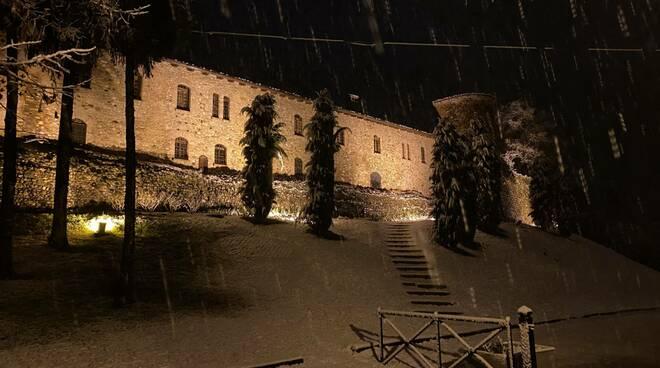 La nevicata del 25 dicembre a Rivalta