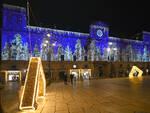 Le luminarie di Natale in centro storico