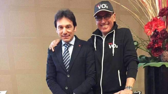 Nella foto, da sinistra Gian Luca Andrina e Massimo Arnesano